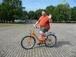 Photo of Berlin Berlin Bike Tour Edward starting the tour!