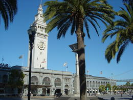 The Ferry Building, home of the Ferry Plaza Farmer's Market, on the Embarcadero , Leah - May 2011