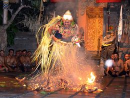 Photo of Bali Bali Kecak Dance, Fire Dance and Sanghyang Dance Evening Tour Fire dance