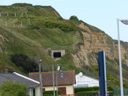 German Pillbox overlooking Omaha Beach , Craig M - September 2011