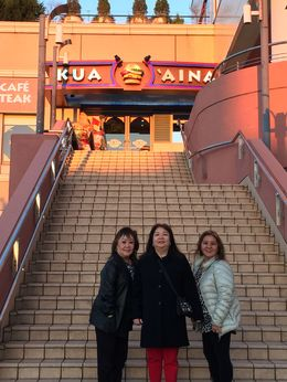 What a surprise to find a Hawaiian burger restaurant at the futuristic waterfront shopping district called Aqua City Odaiba. , Debralyn A - December 2015