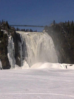 Photo of Quebec City Half-Day Trip to Montmorency Falls and Ste-Anne-de-Beaupré from Quebec Les chutes Montmorency