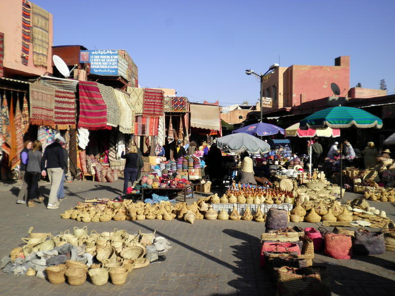 Tne Square, Marrakech.
