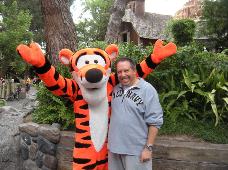 Meeting Tigger - Las Vegas
