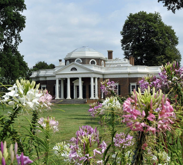 Monticello (Through the Flowers) - Washington DC
