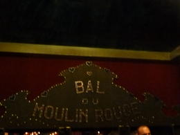Moulin Rouge Paris Dinner and Show - March 2012