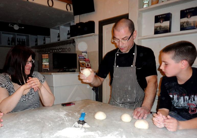 Pizza making class - Florence