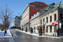 Place Jacques-Cartier - Winter in Old Montreal - May 2011