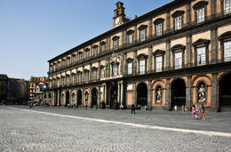 Photo of   Presidential palace in Naples, Palazzo Reale