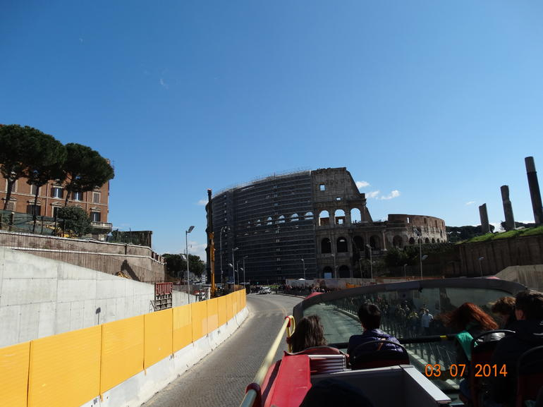Right next to the sites..perfect - Rome