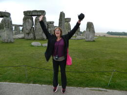 Photo of London Stonehenge, Salisbury and Bath Day Trip from London Stonehendge energized us to jump for joy!