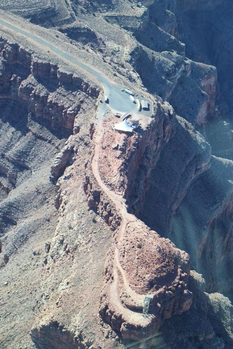 The West Rim view up in the air - Las Vegas