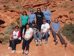 Our group of 9 from Australia , Sharon H - November 2012
