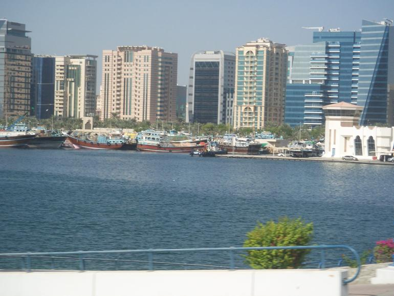 View of the creek - Dubai