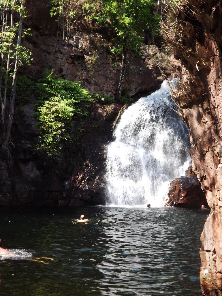Waterfall at Litchfield National Park - Darwin
