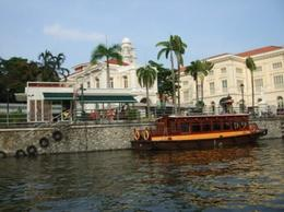 Bumboat on the Singapore River - May 2012