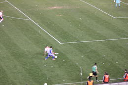 Photo of Buenos Aires Soccer Match in Buenos Aires Going at it!