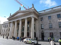 General Post Office on O'Connell Street in Dublin , Hanna - April 2015