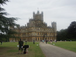 So fun to finally get to walk up the drive to Highclere. , Lori N - September 2015