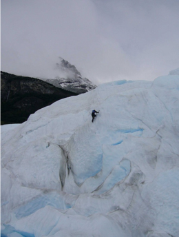 Ice Climber on Perito Moreno, kellythepea - October 2010