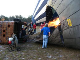 Photo of Orlando Orlando Sunrise Hot-Air Balloon Ride Inflation