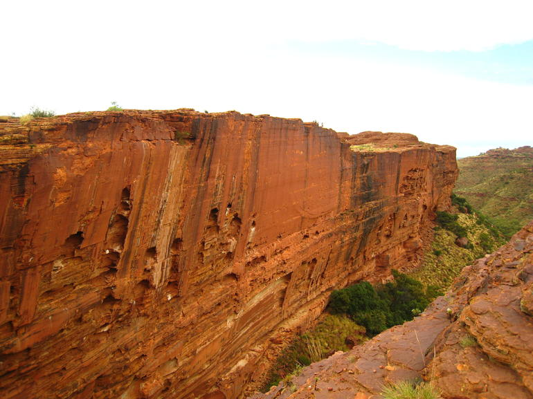 Kings Canyon Wall - Ayers Rock