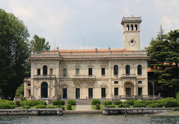 Photo of Milan Lake Como Day Trip from Milan Lake Como - view from boat
