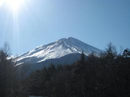 Beautiful in the morning and a clear sky made viewing Mt Fuji magnificent!, Nikolas L - January 2009