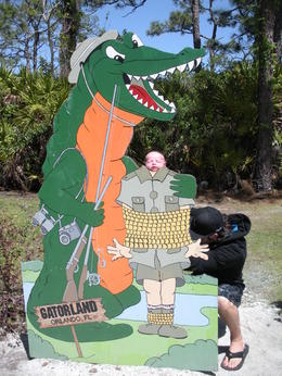 Photo of Orlando Gatorland General Admission Ticket Photo op