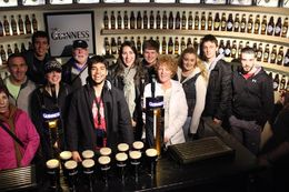 Group that leatned how to pour a Guinness , fraudster98 - May 2015