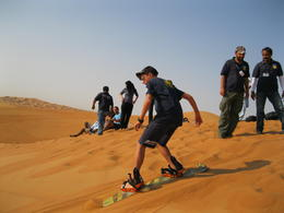 Photo of Dubai Dubai 4x4 Sandboarding Safari Sandboarding in Dubai