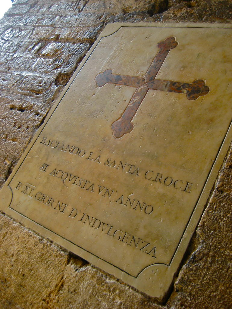The Saints Cross - Rome