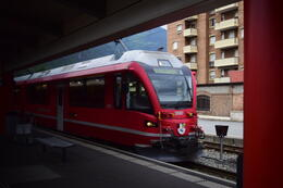Photo of Milan Swiss Alps Bernina Express Rail Tour from Milan Train to go up the Alps