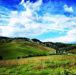Driving through Tuscany -- it's like a dream! , Sara J - May 2014