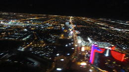 Photo of Las Vegas Las Vegas Strip Night Flight by Helicopter with Transport Vegas at night