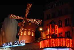 Moulin rouge at night , Michael F - April 2012