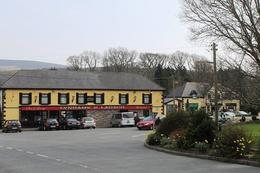 So much scenery, but time to eat at a countryside pub. We stopped at Lynham's of Laragh, which has been in this town since 1776. , Summer J - March 2012