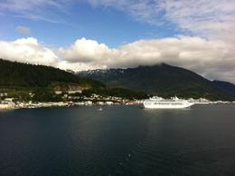 Photo of   A view of Ketchikan from the water