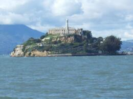 approaching Alcatraz from Pier 33., John E - March 2010