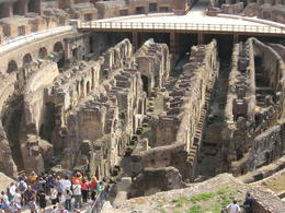 Photo of Rome Skip the Line: Ancient Rome and Colosseum Half-Day Walking Tour Center View of Colosseum