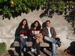 Had a nice time with my friends... , Diptargha Chakravorty - October 2012