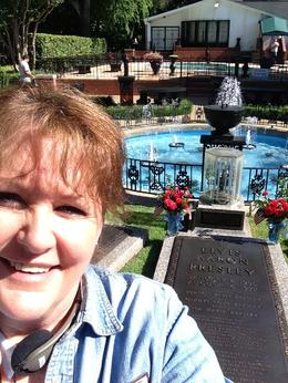 Elvis's most favorite place. The Meditation Garden. So Beautifu.... , Ann S - July 2014
