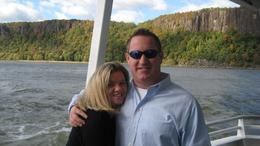 The circle cruise up the Hudson to the Oktoberfest at Bear Mountain!, Diane F - October 2010