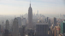 Photo of New York City Top of the Rock Observation Deck, New York Manhattern from the Rock