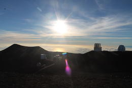 Photo of Big Island of Hawaii Mauna Kea Summit and Stars Small Group Adventure Tour On the top of Mauna Kea