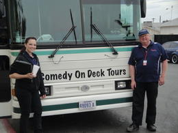 The Dam Bus - Jody and Alan , Dolores K - April 2013
