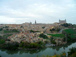 This is an amazing view of the old city of Toledo. , Celine C - November 2012