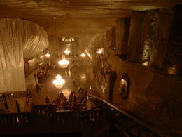 Photo of Krakow Wieliczka Salt Mine Half-Day Trip from Krakow underground church at the salt mine
