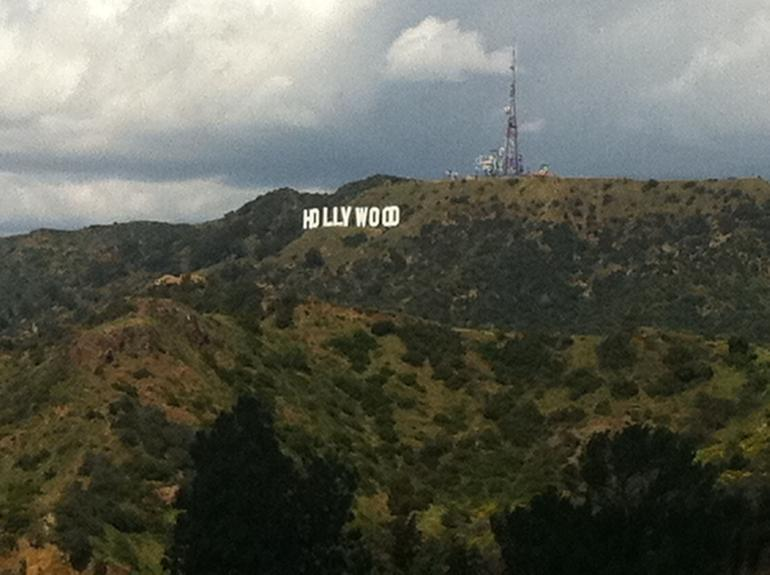 View of the Hollywood Sign - Los Angeles
