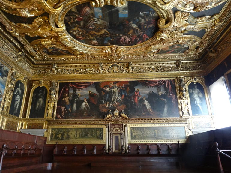 Doge great hall - Venice